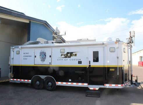 Police Department Command Post Trailer Exterior